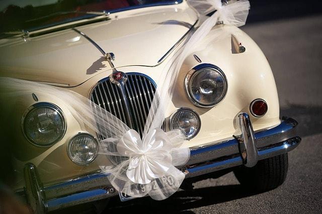 voiture des maries theme mariage decaration wedding planner paris